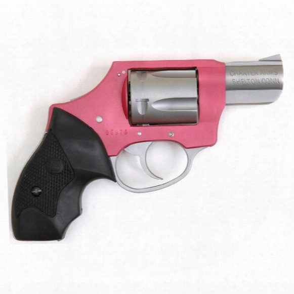 """Charter Arms Pink Lady Undercover Lite, Revolver, .38 Special, 2"""" Barrel, 5 Rounds"""