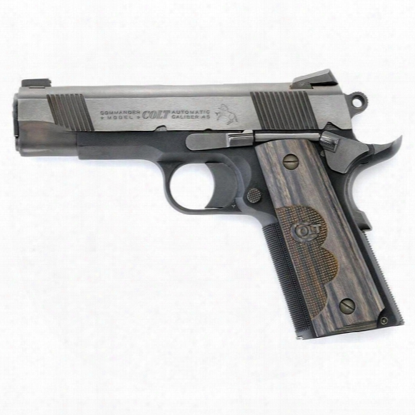 "Colt Talo Wiley Clapp Commander, Semi-automatic, .45 Acp, 4.25"" Barrel, 7+1 Rounds"