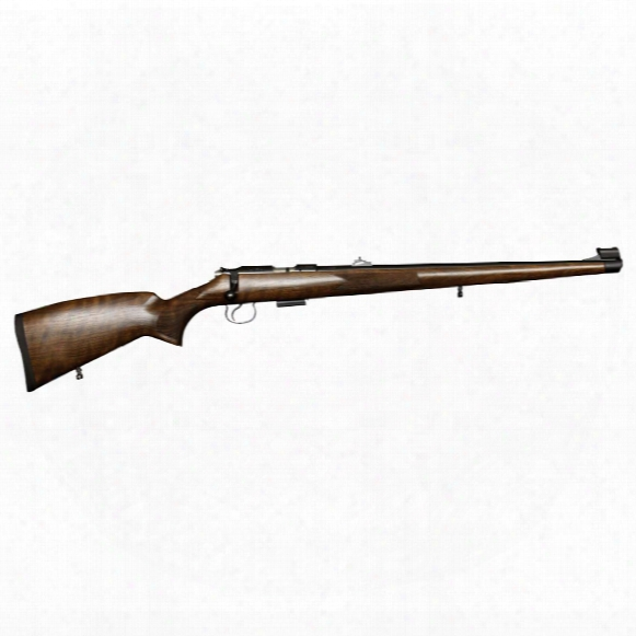 "Cz-usa 455 Fs, Bolt Action, .22 Wmr, Rimfire, 20.6"" Barrel, Mannlicher Stock, 5+1 Rounds"