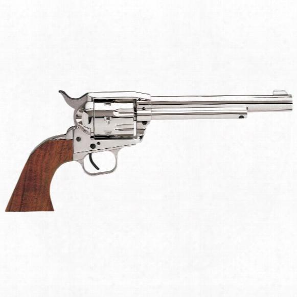"Eaa Weihrauch Bounty Hunter, Revolver, .22lr, 770105, 741566010557, 6.75"" Barrel, Nickel Finish, 6-round Capacity"