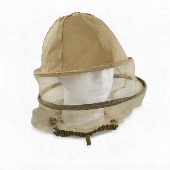 French Military Standard Foreign Legion Khaki Headnet, New