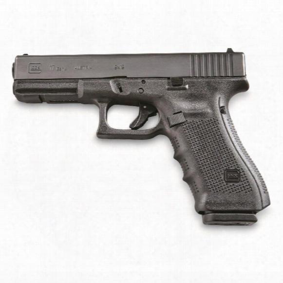"Glock 17 Gen 4, Semi-automatic, 9mm, 4.48"" Barrel, 10 Round Capacity"
