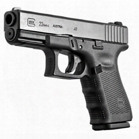 "Glock 23 Gen 4, Semi-automatic, .40 Smith & Wesson, 4.01"" Barrel, 13+1 Rounds"