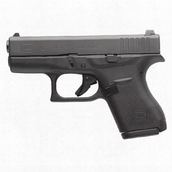 "Glock 42, Semi-automatic, .380 Acp, 3.25"" Barrel , 6+1 Rounds"