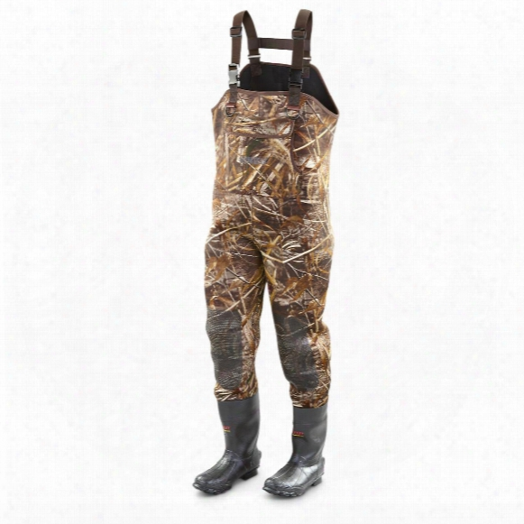 Guide Gear Men's Insulated Hunting Chest Waders, 1,000 Grams