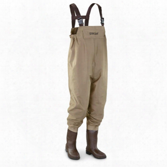 Guide Gear Men's Steel Creek Nylon Chest Waders