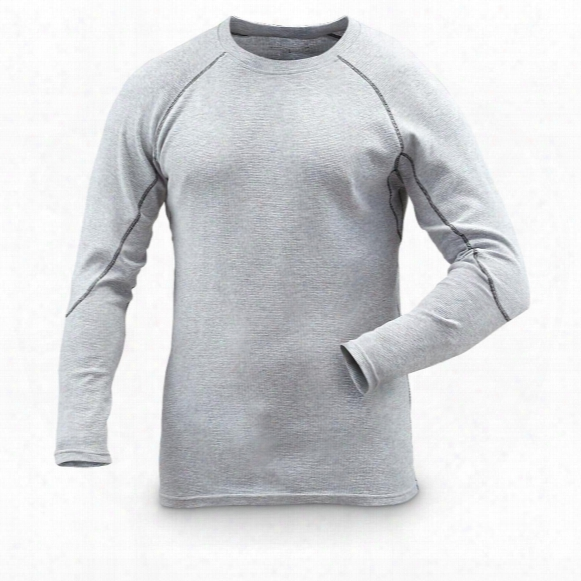 Guide Gear Men's Midweight Thermal Base Layer Shirts, 2 Pack