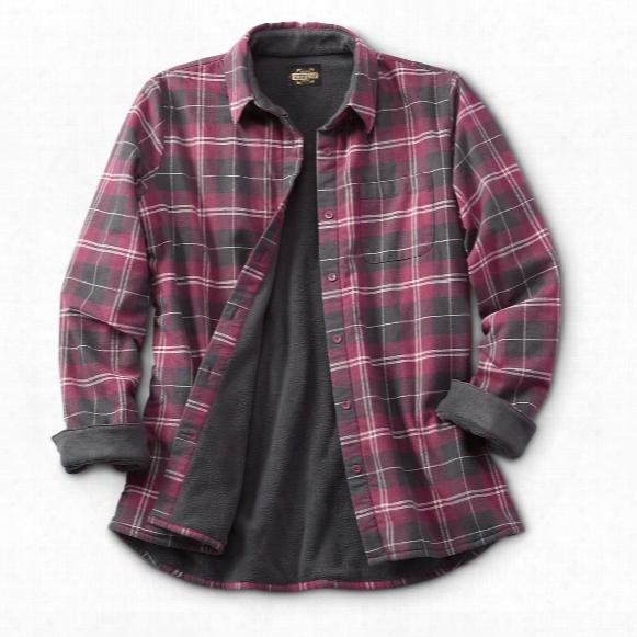 Guide Gear Women's Fleece-lined Flannel Shirt