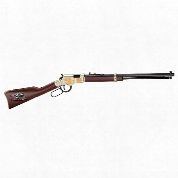 "Henry Golden Boy Fireman Edition, Lever Action, .22lr, Rimfire, 20"" Barrel, 16+1 Rounds"