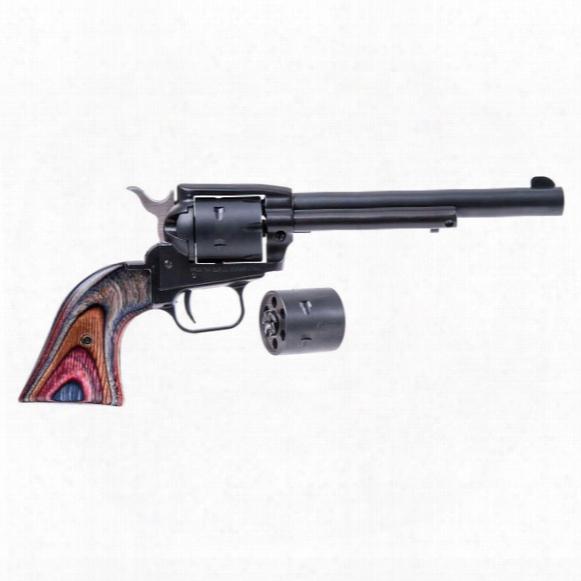 "Heritage Rough Rider Steel Frame, Revolver, .22lr, Rimfire, Srr22mbs6, 727962502310, 6.5"" Barrel"