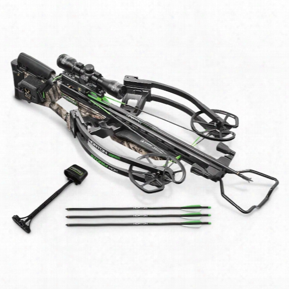 Horton Storm Rdx Crossbow Package With Acudraw, 4x32mm Multi-linetm Scope