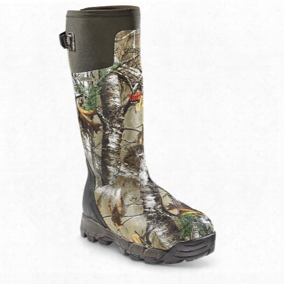 "Lacrosse Men's Alphaburly Pro 18"" Insulated Rubber Hunting Boots, 1,600 Grams"