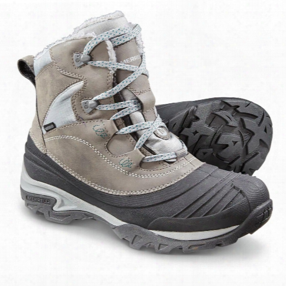 Merrell Women's Snowbound Mid Waterproof Boots, Charcoal