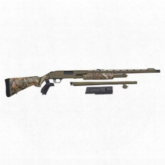 "Mossberg 500 Flex Turkey / Defense, Pump Action, 12 Gauge, 24"" / 18.5"" Barrels, 5+1 Rounds"