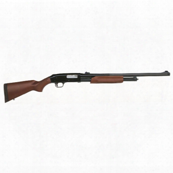"Mossberg 500 Slugster, Pump Action, 12 Gauge, 24"" Barrel, 4+1 Rounds"