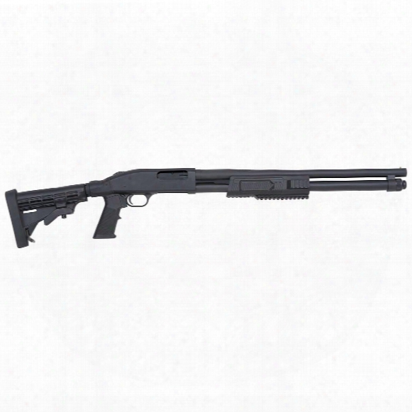 "Mossberg Flex 590 Tactical, Pump Action, 12 Gauge, 20"" Barrel, 9+1 Rounds"