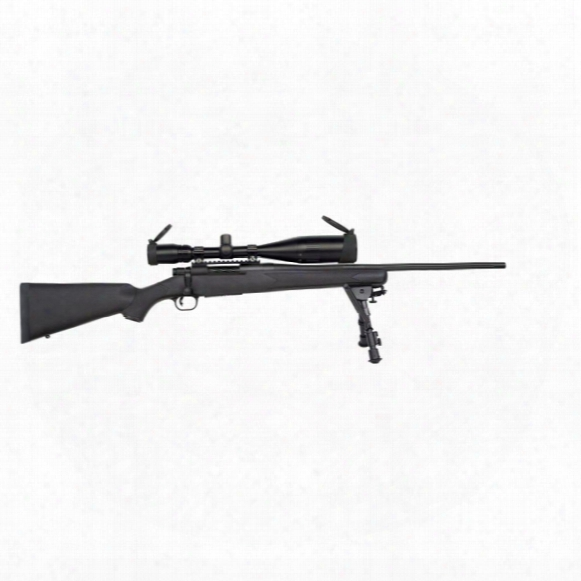 Mossberg Patriot Night Train Combo, Bolt Action, .308 Winchester, 4-16x50mm Scope, 5 Rounds