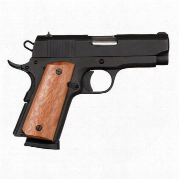 "Rock Island Armory 1911 Compact Gi, Semi-automatic, .45 Acp, 3.5"" Barrel, 7+1 Rounds"