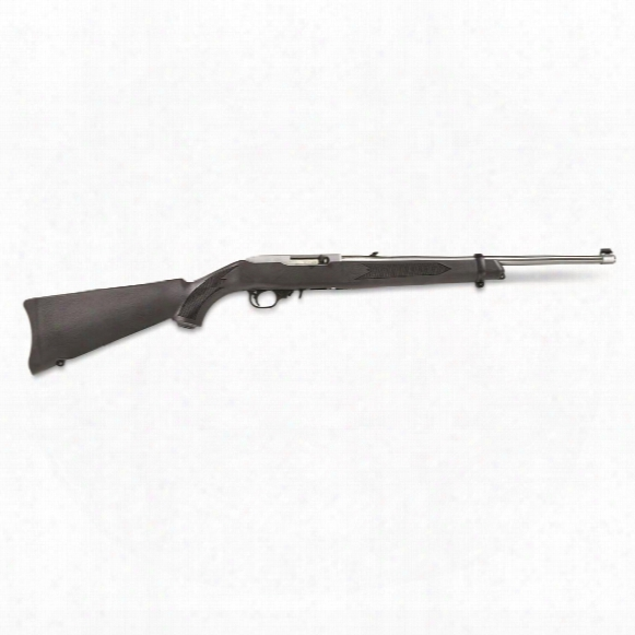 "Ruger 10/22 Carbine, Semi-automatic, .22lr, Rimfire Rifle, 18.5"" Barrel, 10+1 Rounds, 10+1"