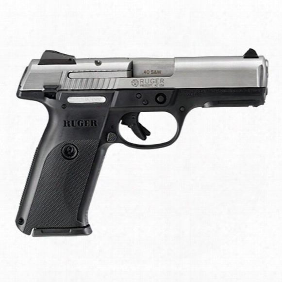 "Ruger Sr40, Semi-automatic, .40 Smith & Wesson, 4.14"" Barrel, 15+1 Rounds"