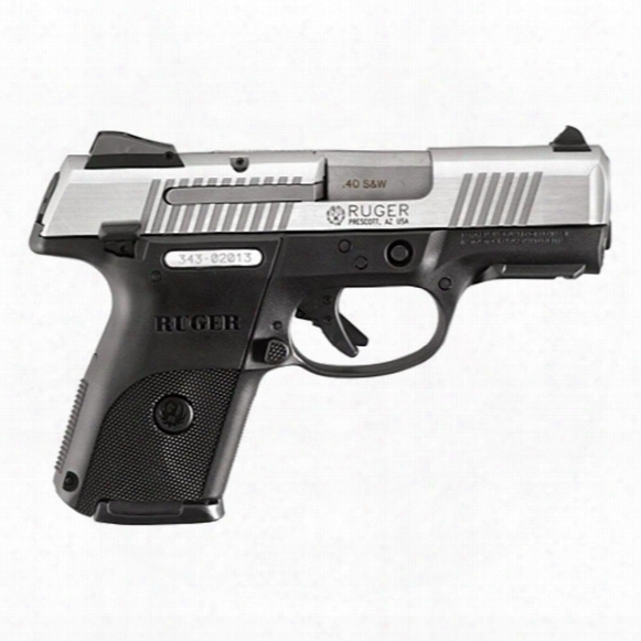 """Ruger Sr40c, Semi-automatic, .40 Smith & Wesson, 3.5"""" Barrel, 9+1 Rounds"""
