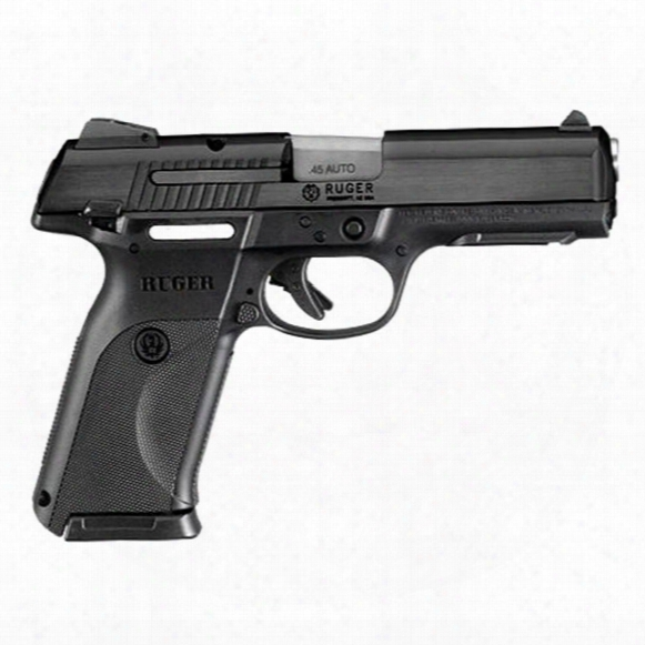 "Ruger Sr45 Pistol, Semi-automatic, .45 Acp, 4.5"" Barrel, 10+1 Rounds"