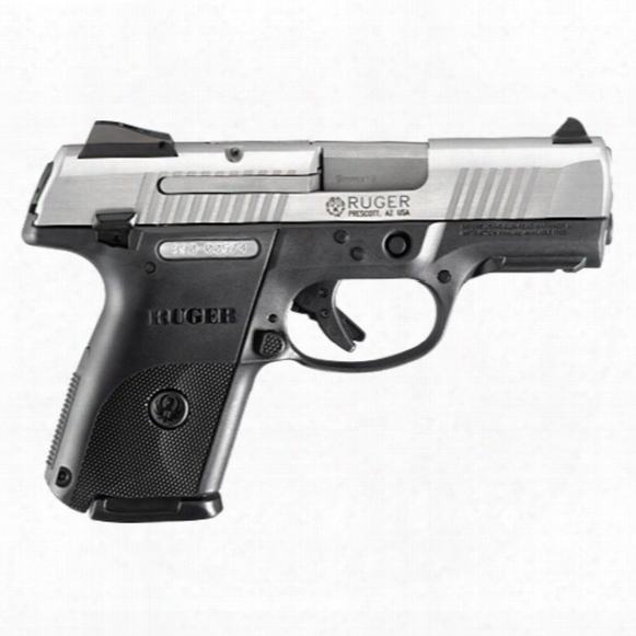 """Ruger Sr9c, Semi-automatic, 9mm, 3.40"""" Barrel, 17+1 Rounds"""