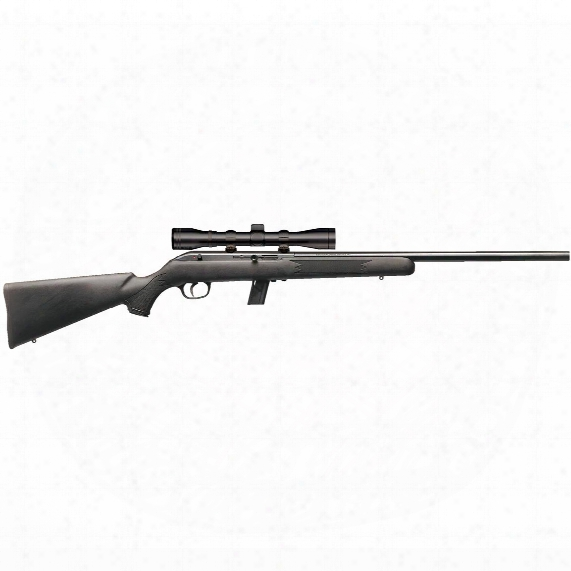 "Savage 6 4fvxp, Semi-automatic, .22lr, Rimfire, 21"" Barrel, 10+1 Rounds, 4x32mm Scope"