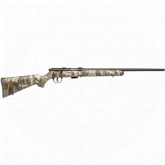 "Savage 93r17 Camo, Bolt Action, .17 Hmr, Rimfire, 21"" Barrel, 5+1 Rounds"