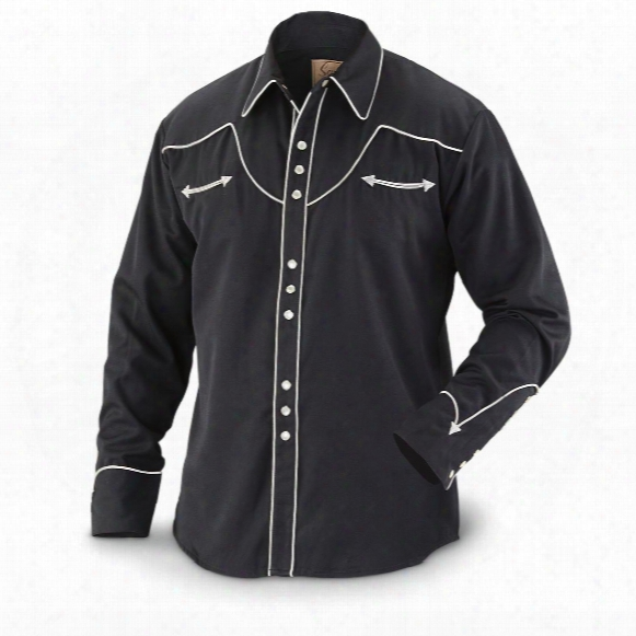 Scully Men's 620 Long-sleeve Western Shirt