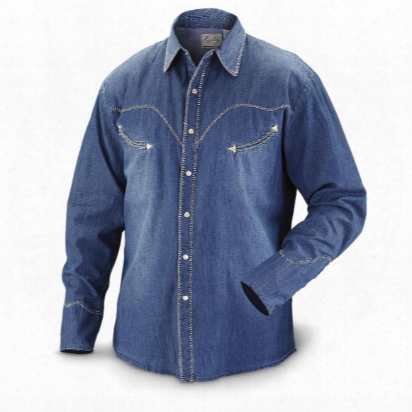 Scully Men's 823 Long-sleeve Western Shirt