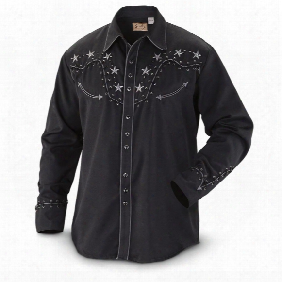 Scully Men's 853 Long-sleeve Western Shirt