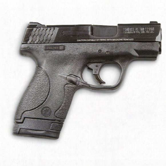 "Smith & Wesson M&p Shield, Semi-automatic, 9mm, 3.1"" Barrel, 8+1 Rounds, Manual Safety"