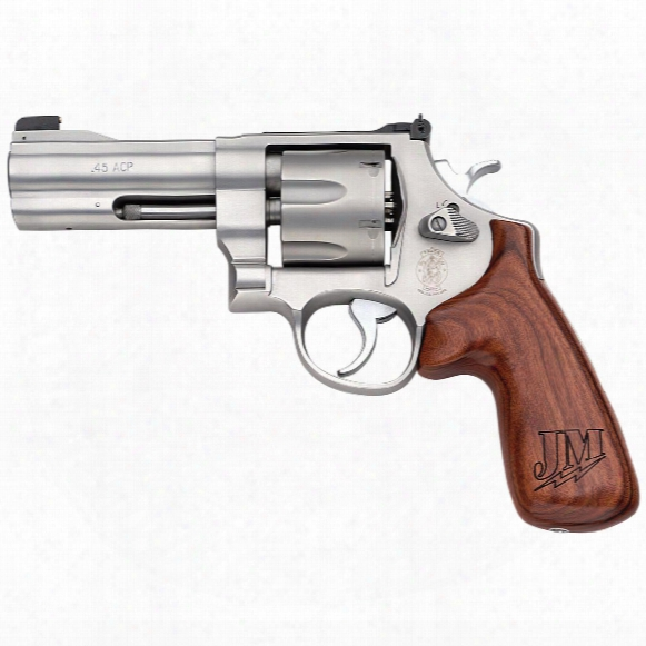 "Smith & Wesson Model 625 Jm, Revolver, .45 Acp, 4"" Barrel, Speed Trigger, 6 Rounds"