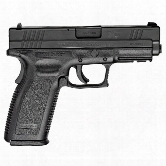 "Springfield Xd 4"" Service, Semi-automatic, 9mm, 16+1"