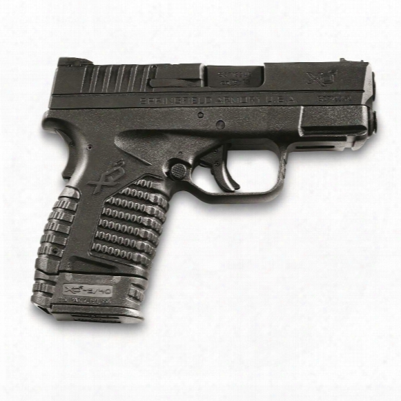 "Springfield Xd-s, Semi-automatic, 9mm, 3.3"" Barrel, 7+1 / 8+1 Rounds"