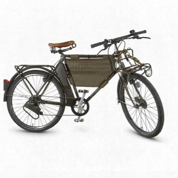 Swiss Military Surplus Army Mo-93 Military Bicycle, 7-speed, Used