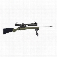 "Mossberg Patriot Night Train Combo, Bolt Action, .300 Winchester Magnum, 22"" Barrel, 4 Rounds"