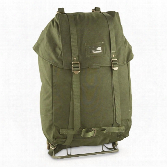 Used Swedish Military Surplus 35l Rucksack With Frame
