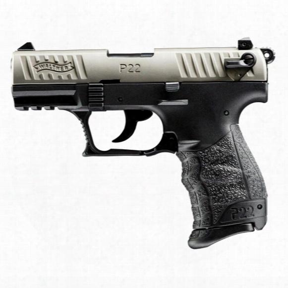 "Walther P22, Semi-automatic, .22lr, Rimfire, 3.42"" Threaded Barrel, 10+1 Rounds"