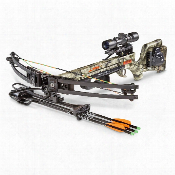 Wicked Ridge By Ten Point Invader G3 Crossbow With Bonus String Dampeners