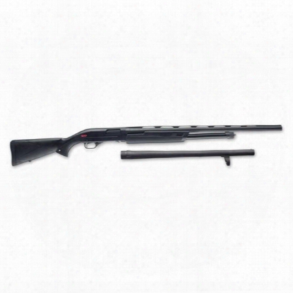 "Winchester Sxp Camp/field Combo, Pump Action, 12 Gauge, 28"" Field/18"" Defender Barrels, 5+1 Rounds"