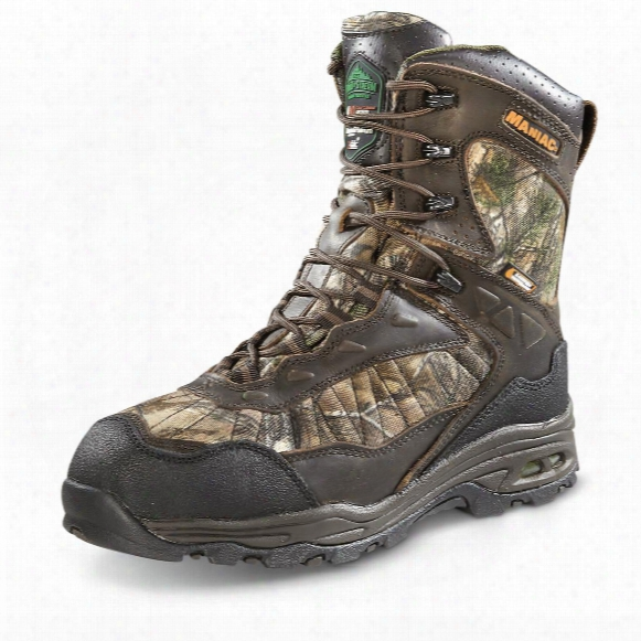 Wood N' Stream Men's Maniac X-static Hunting Boots, 440 Gram, Realtree Xtra Camo