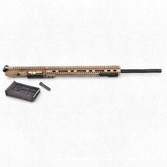 """Alex Pro Firearms .22-.250 Remington Complete Upper, 24"""" Heavy Barrel, 15 1/2"""" T-mod, Flat Earth"""