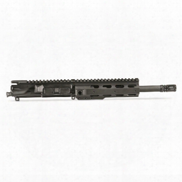 """Anderson 10.5"""" Hbar Upper Receiver Assembly Less Bcg And Charging Handle, .300 Aac Blackout"""