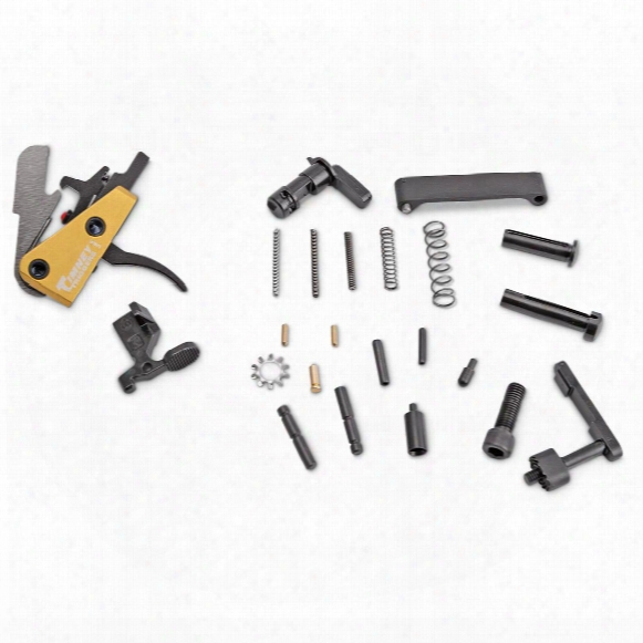 Anderson Lower Parts Kit For Am-15 With Timney Drop-in Trigger