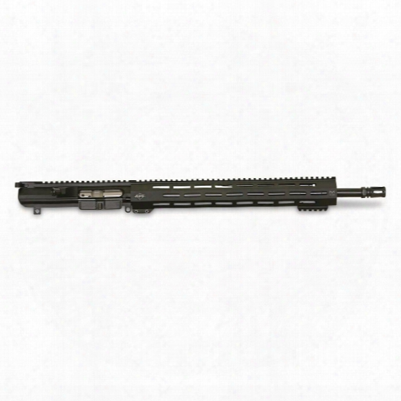 "Apf 308 Hunter 18"" Stainless Barrel Complete Upper Receiver, .308 Winchester, 15.5"" M-lok Handguard"