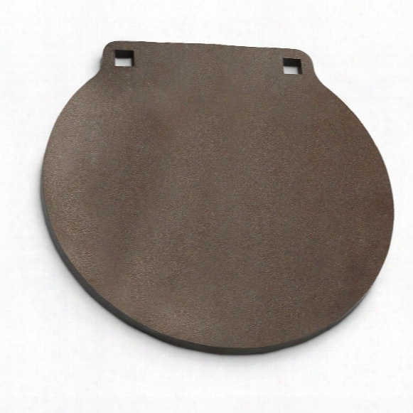 """Ar500 1/2"""" Thick, 8"""" Round Gong Steel Shooting Target"""