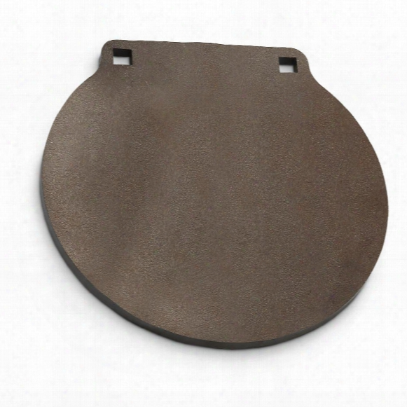 """Ar500 3/8"""" Thick, 16"""" Round Gong Steel Shooting Target"""