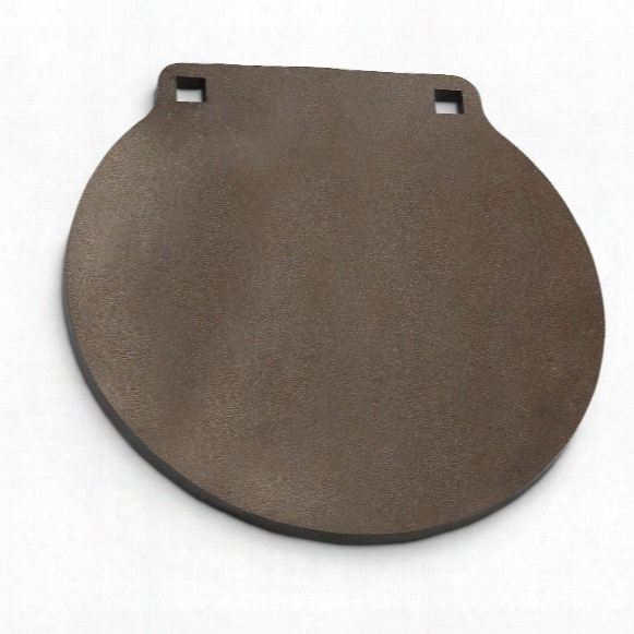 """Ar500 3/8"""" Thick, 6"""" Round Gong Steel Shooting Target"""